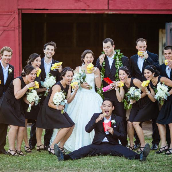 A fun wedding at turtle bay