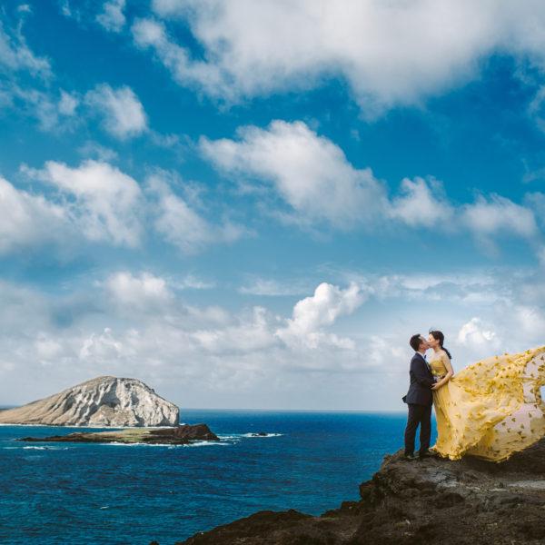 Intimate wedding beachside