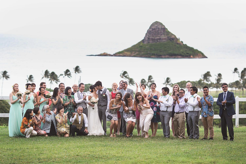 Kualoa Ranch wedding