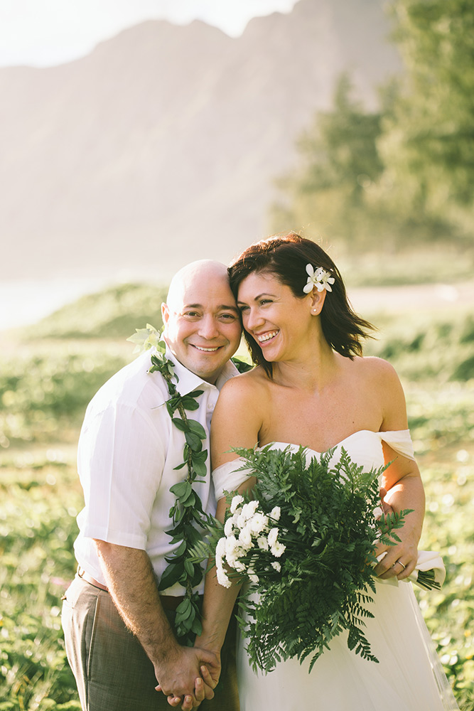 trash your wedding dress - Hawaii Wedding Photography