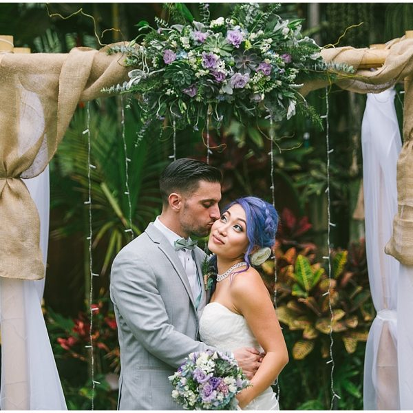 Jena and Justin/ Halekoa Estate Wedding