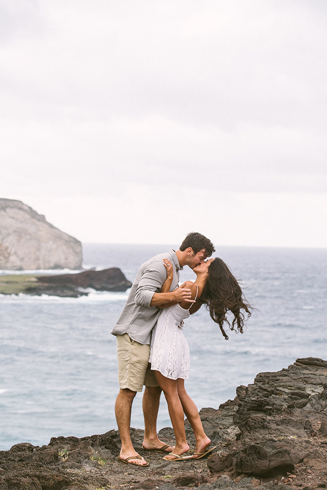 engagement photography in hawaii