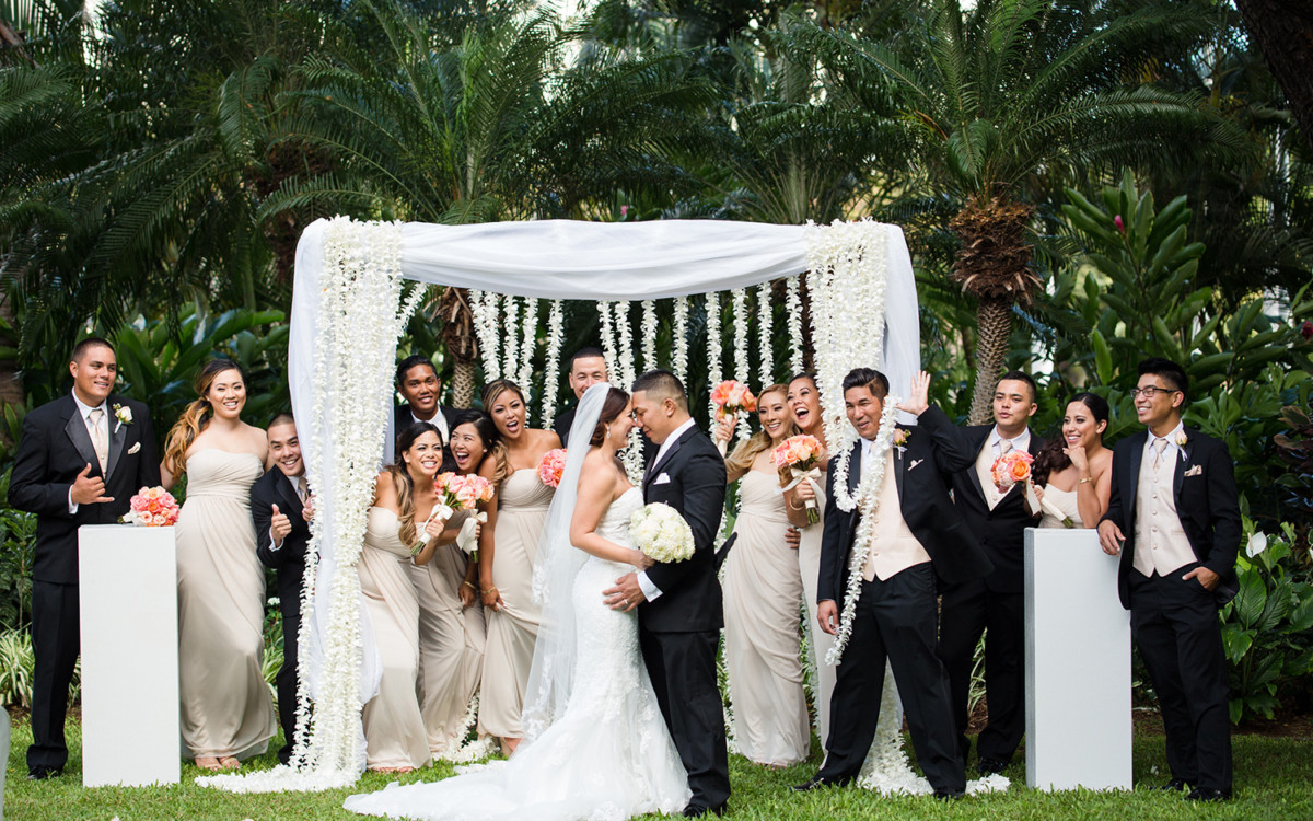 Garret and Nicole/ Hale Koa wedding