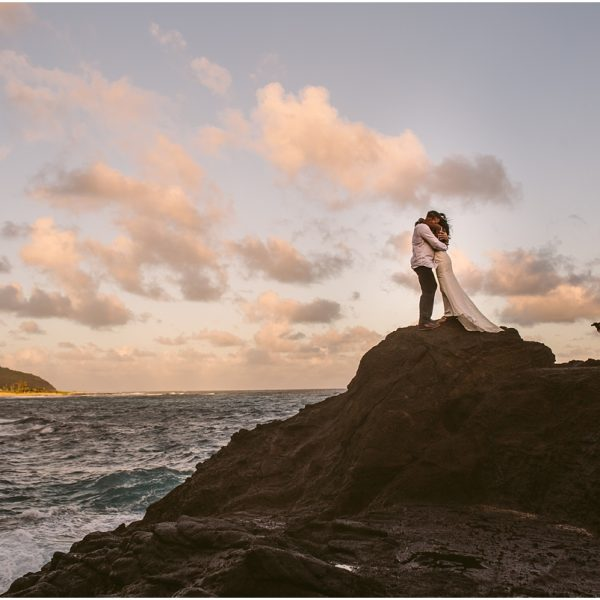 Brittany and Stephen/ Halona Blowhole Wedding